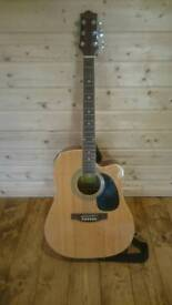 Antoria electric acoustic guitar