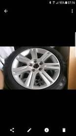"""4 x 17"""" Audi Alloys"""