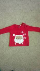 Baby christmas top 6-9 months