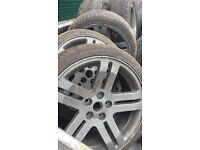 toyota camry special alloy wheels 205/40ZR18 with nuts