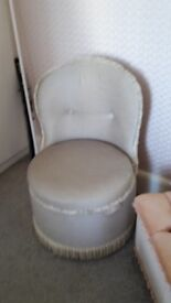 Bedroom Grey chair /storage - DELIVERY AVAILABLE