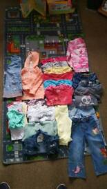 Girls 2-3 year clothes bundle