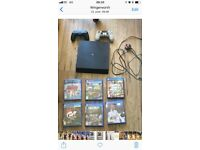 PS4 boxed excellent condition 2 controllers 6 games warranty till end Nov