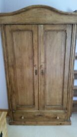 Large, antique wardrobe