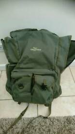 Very large carp fishing rucksack
