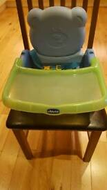 Chicco travel booster/high chair
