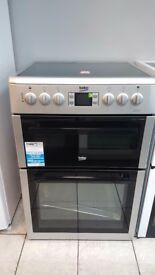 BRAND NEW/GRADED BEKO BDVC674MS Electric Ceramic Cooker with WARRANTY