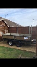 ifor williams tipper trailer