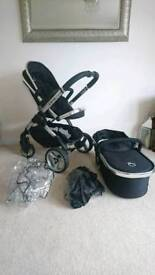 iCandy Peach 2 Set - Black Magic - stroller pram carrycot