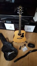 Ibanez V50NJP-NT Acoustic Guitar Jam Pack (used)
