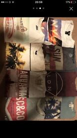 Bundle of men's T-shirts (Superdry/Hollister)