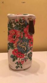 New floral bottle warmer