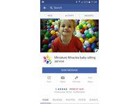 Minature Miracles babysitting service
