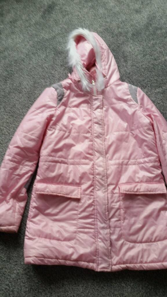 Women winter jacketin CardiffGumtree - Pink jacket size 12