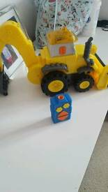 Dancing bob the builder truck as new