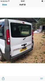 Vauxhall vivaro mini bus