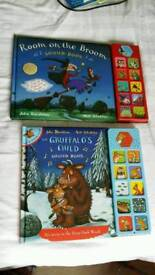 Room on the broom and the Gruffalos child sound book