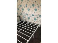 Double bed frame.