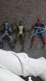 Spider man figures