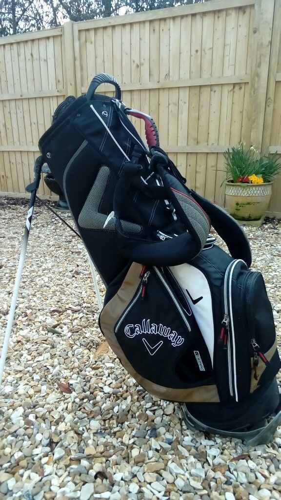 Callaway X Series Carry Stand Bag In Bracebridge Heath
