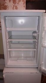 Fridge with small freezer compartment good condition and working order