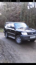 WANTED ALL 4x4s CARS VANS AND TRAILERS