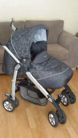 Baby Buggy/Pram Silver Cross 3D