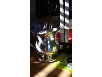 Vintage Silver Plated tableware - Falstaff Splendour Silver Plated Jug & Silver Spoon