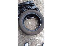 195 55 R15 Good Year tire with plenty thread left