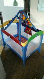 Baby Einstein travel cot