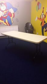 5 costco folding tables