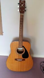 Yamaha Full Size Acoustic Guitar in good working order
