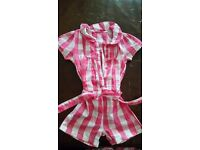 Girls all in 1 outfit age 2-3