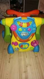 Baby walker ride on 2 in 1
