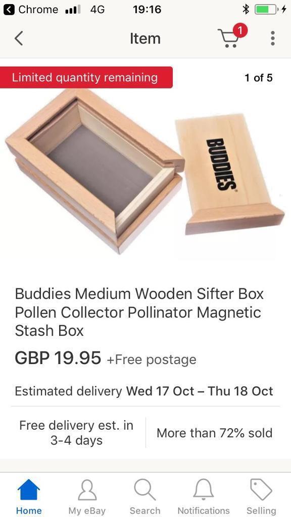 Hydroponics Kief Box Like New In Sheffield South Yorkshire Gumtree