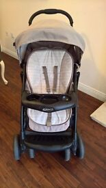 Graco quattro tour sport Travel System Pushchair with Car Seat Neutral Coulor