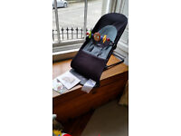 Baby Bjorn bouncer balance soft with wooden toy