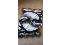 Powerslide Phuzion Rollerblades size 6.5 only worn twice, in excellent condition