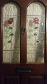 Beautiful Mahogany Door