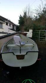 Price dropped Rowing boat 10.5 feet