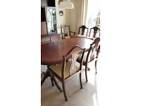 Solid Mahogany Dining Table and Chairs - Coyles of Ireland