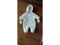 Baby snowsuits 0-3 & 3-6