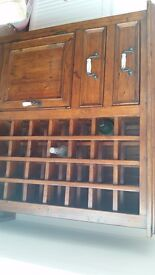 wine cabinet -solid wood