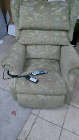 Rise & recliner electric chair