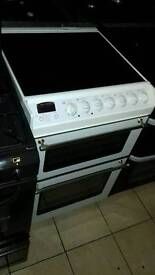 Glass top electric cooker