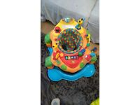 Large baby walker/activity centre with extendable legs