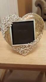 Photo frame- heart shape