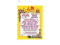 V festival ticket Sunday Weston park
