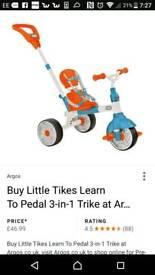 Little tikes trike