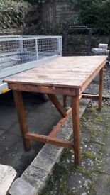 Timber workbench